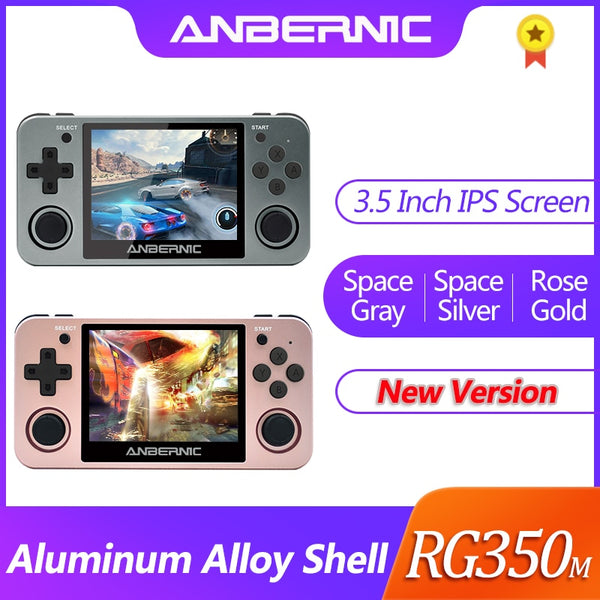 ANBERNIC HDMI Retro game RG350M Video game console with over 2500+ games!