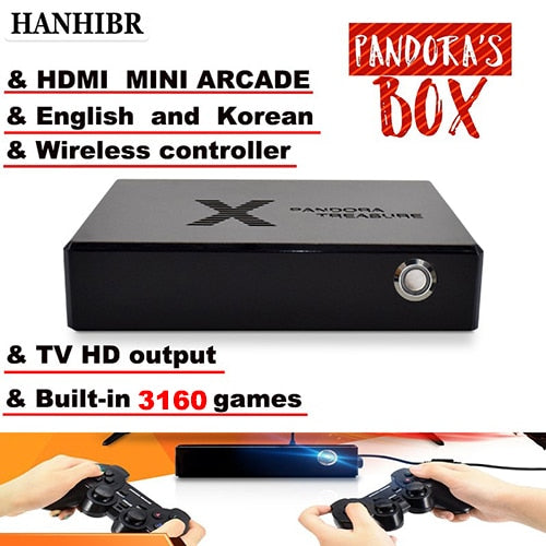 HOT SELLER! My Personal Favorite! Pandora Box 3D mini arcade console with 3160 built in games!