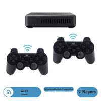 DATA FROG WIFI Video Game 4 Player Console with Built-in 3000+games; 100 3D games For PS1/PSP Retro Game Console Support HDMI!!!