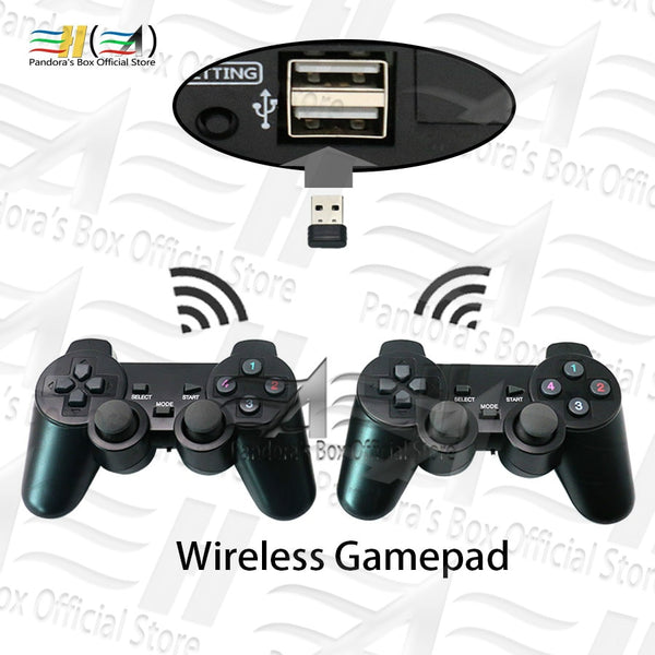 Usb wireless gamepads! Plug and play For Pandora Box DX arcade system