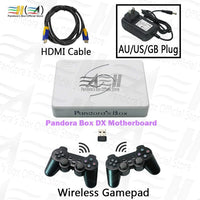 Pandora Box DX Gamepad Set 3000 in 1 Wired / Wireless Joypad Set Save game progress! Can add an extra 5000 games!