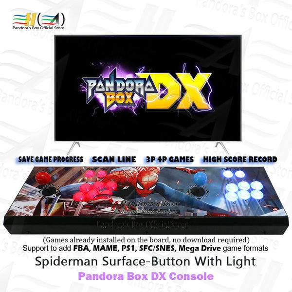 Pandora Box DX!!! 3000 in 1 arcade game console! Can now save game high scores and levels!