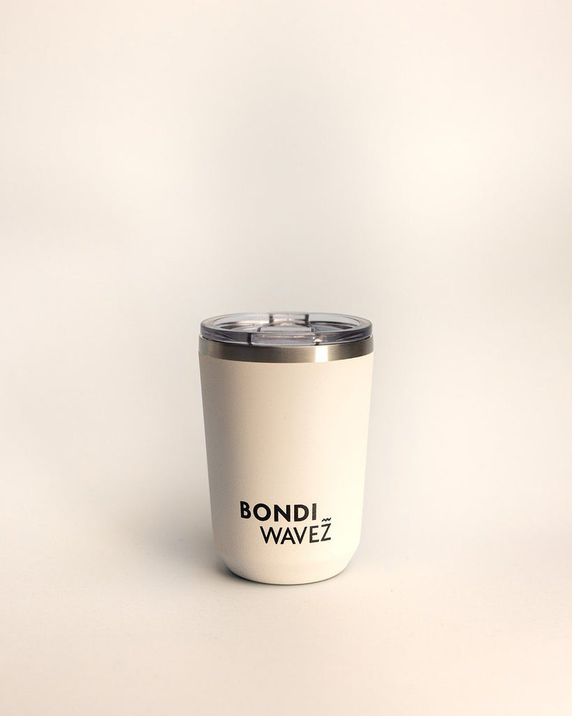 Bondi Wavez Tumbler 350ml Bottle Chalk