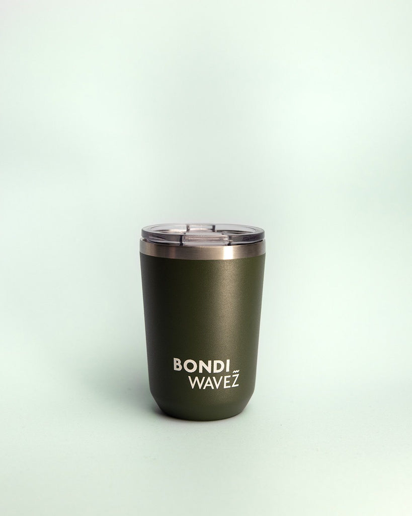 Bondi Wavez Tumbler 350ml Bottle Khaki