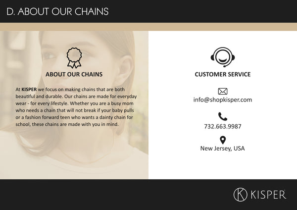 about our chains
