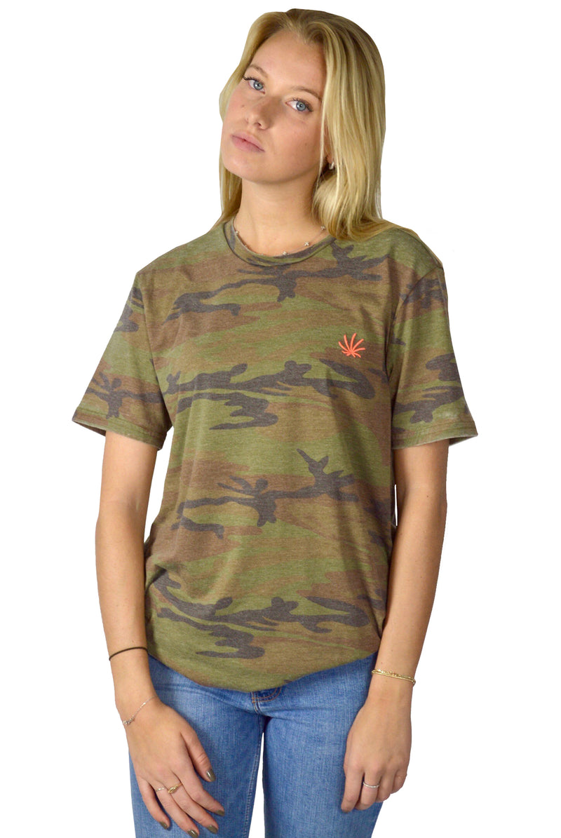Trademark Camo Burnout Tee