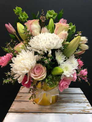 Blush Arrangement $75.00 - $95.00