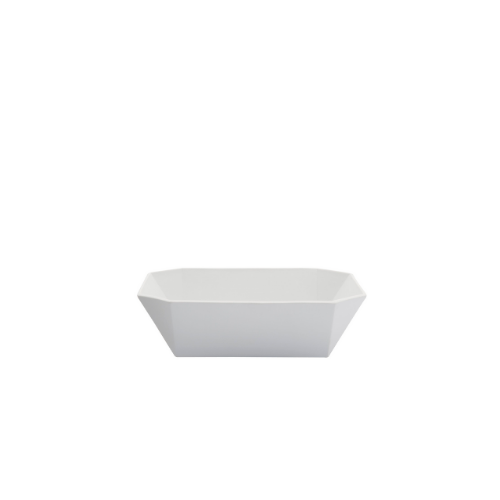 TY Square Bowl white