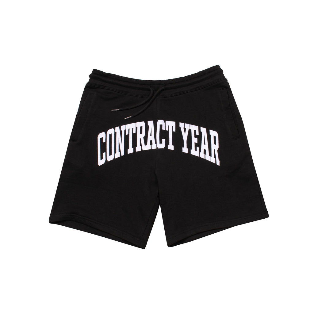 Contract Year 2.0 Script Sweat Shorts (Black)