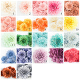 Stemmed Flowers - Bunch of 5 - Pick Your Color