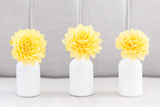 Sunshine Yellow Stemmed Wood Flowers