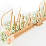 Gold Mr and Mrs Signs, Wedding Signage, Bride and Groom Signs, Reception Decor, Wedding Signs
