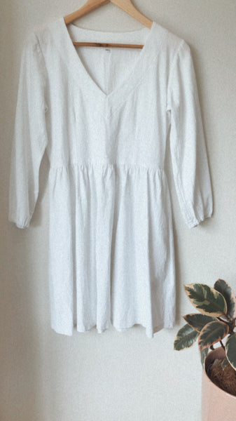 Mara Dress - Cotton (SIZE 10)