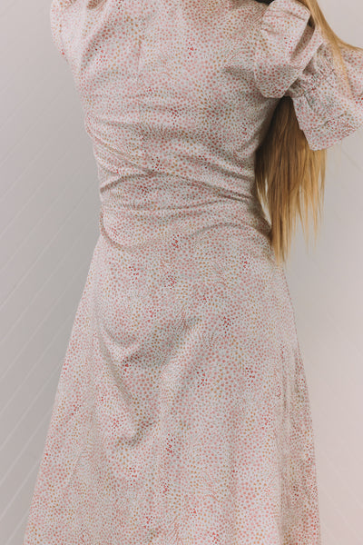 Darcy Wrap Dress - Flora