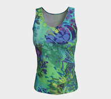Load image into Gallery viewer, Abundance Fitted Tank Top - Long