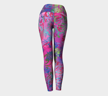 Load image into Gallery viewer, Summer Splendour Yoga Leggings