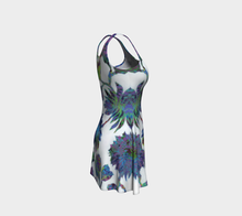 Load image into Gallery viewer, Tropical Blooms Flare Dress