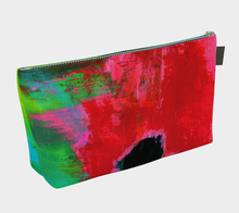 Load image into Gallery viewer, Magenta Tide Make Up Bag
