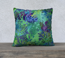 "Load image into Gallery viewer, Abundance Pillow Case 22"" x 22"""