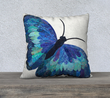 "Load image into Gallery viewer, Mariposa Pillow Case 22"" x 22"""