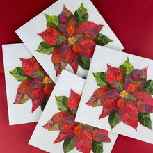 Load image into Gallery viewer, Poinsettia Greeting Card