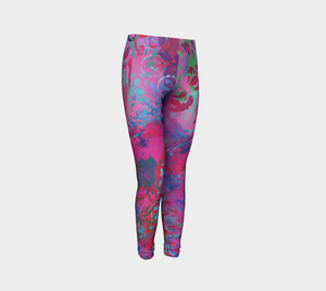 Summer Splendour - Youth Leggings
