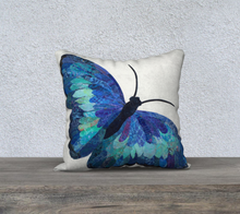 "Load image into Gallery viewer, Mariposa Pillow Case 18"" x 18"""