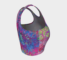 Load image into Gallery viewer, Summer Splendour Athletic Crop Top