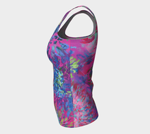 Load image into Gallery viewer, Summer Splendour Fitted Tank Top - Long