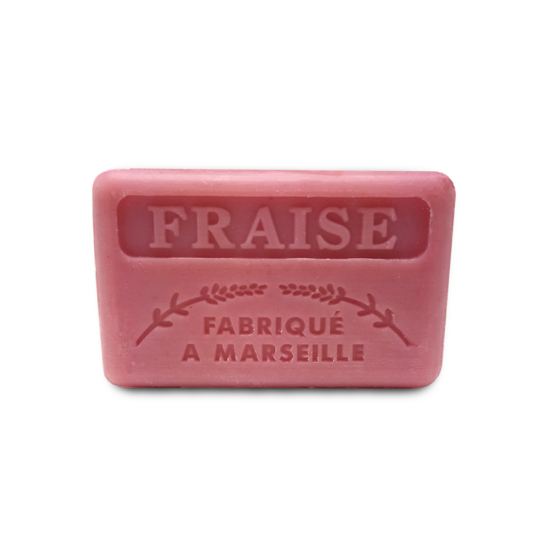 French Soap Strawberry Fragrance Savon De Marseille