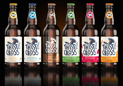 Thistly Cross Scottish Cider (Local Collection or Delivery only)