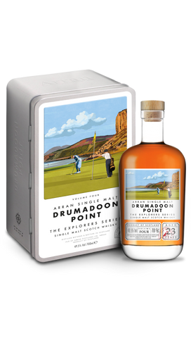 Arran Drumadoon Point - 23 Year Old The Explorer Series Volume 4 (70cl, 49.5%)