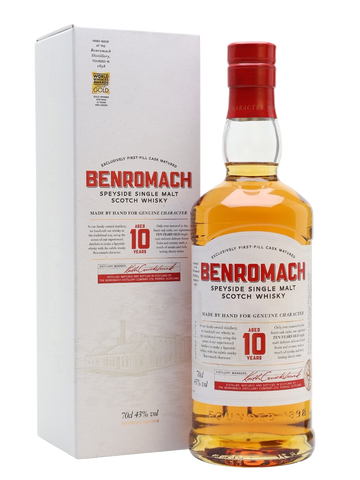 Benromach 10 Year Old (70cl, 43%)