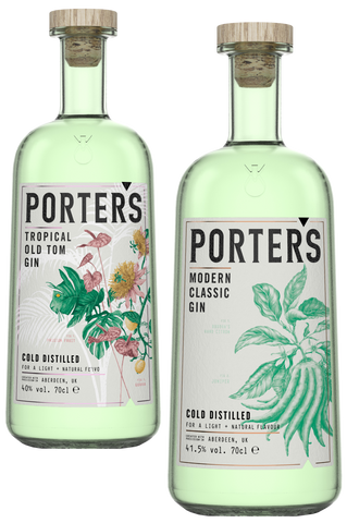 Porters Gin - Modern Classic & Tropical Old Tom