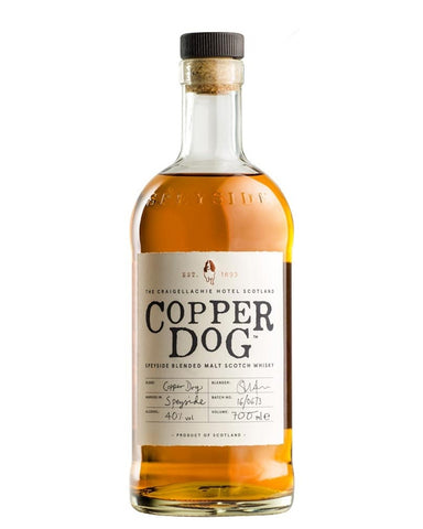 Copper Dog Blended Speyside Whisky (70cl, 40%)