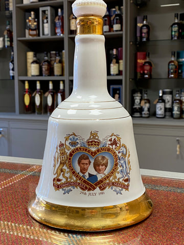 Bells Scotch Whisky | Charles & Diana (1981) Commemorative Wedding Decanter