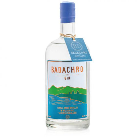 Badachro Small Batch Scottish Gin