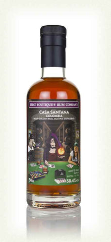 Casa Santana 12 Year Old (That Boutique-y Rum Company) (50cl, 58.4%)