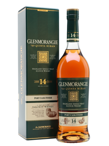 Glenmorangie 14 Year Old Quinta Ruban (70cl, 46%)