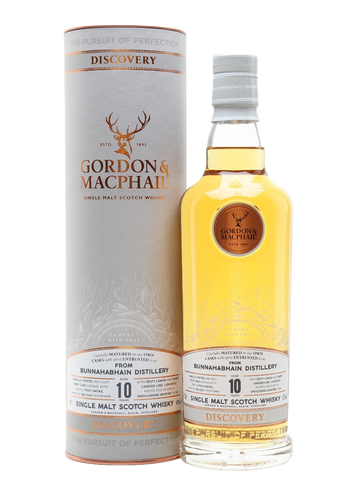 Gordon & MacPhail Discovery Series Bunnahabhain 10 Year Old Smokey (70cl, 43%)
