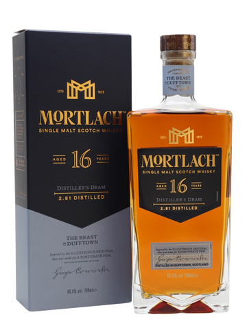 "Mortlach 16 Year Old ""The Beast Of Dufftown"" (70cl, 43.4%)"