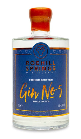 RoeHill Springs Gin - Gin No5 & Blue