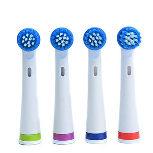 AZDENT Hot Rotatory Electric Toothbrush with 4 Replacement Heads Deep Clean Battery Operated Tooth Brush Teeth Whitening Adults