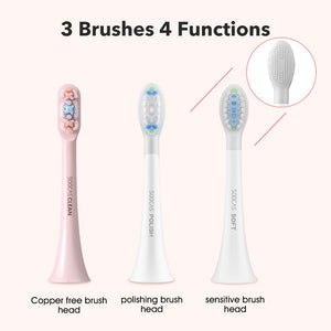 SOOCAS X3U Sonic Electric Toothbrush xiaomi USB wireless Charging tooth brush Adult Ultrasonic toothbrush APP 4 cleaning modes