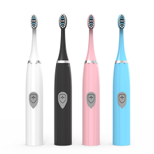 Load image into Gallery viewer, New Electric Toothbrush Sonic Wave Battery Top Quality Smart Chip Toothbrush Head Soft Replaceable Whitening Tooth Brush
