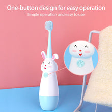 Load image into Gallery viewer, New Hot Children Electric Toothbrush Cartoon Pattern Tooth Brush Electric Teeth Tooth Brush For Kids with Soft Replacement Head