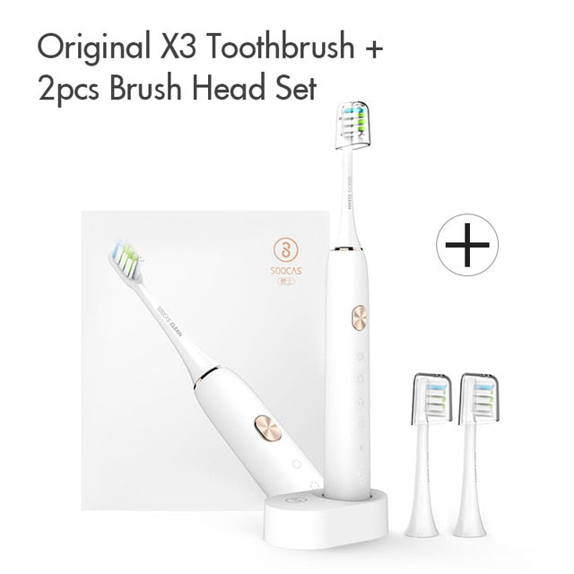 Soocas X3 Sonic Electric Toothbrush Upgraded Adult Waterproof Tooth Brush Ultrasonic automatic Toothbrush USB Rechargeable