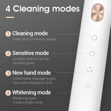 Load image into Gallery viewer, SOOCAS X3U Sonic Electric Toothbrush xiaomi USB wireless Charging tooth brush Adult Ultrasonic toothbrush APP 4 cleaning modes