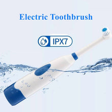 Load image into Gallery viewer, 1set Electric Toothbrush 2 Brush Heads for Children with Care Rotation Vitality Cartoon Oral Health Soft Tooth Brush for Kids