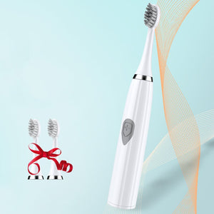 New Electric Toothbrush Sonic Wave Battery Top Quality Smart Chip Toothbrush Head Soft Replaceable Whitening Tooth Brush